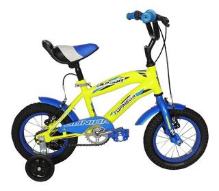 Bicicleta Top Mega R 12 Cross Boy Bmx Nene Navidad Full Fas!