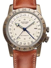 Relógio Glycine 24 Horas Airman The Chief Purist 40m