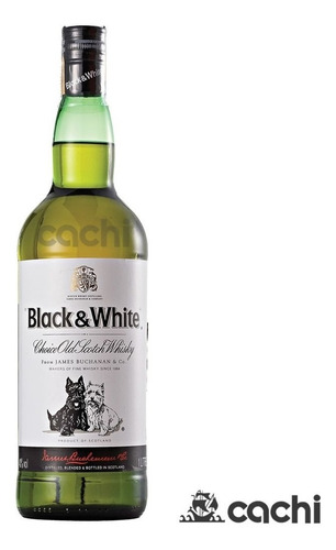 Whisky Black & White 1 Litro