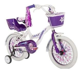 Bicicleta Raleigh Rodado 16 Lilhon Nena Alu Envios Gratis !!