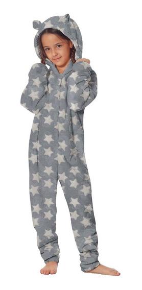 Pijama Enterito Monito Peluche Teens Dama Invierno Kigurumi