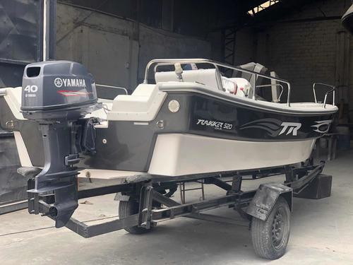 Trakker 520 Nuevo 2020 Todo Equipado Con Yamaha 40 Hp