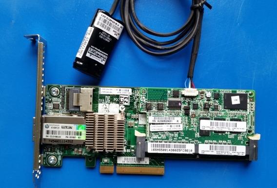 Controlador Hp P222 512mb 6g + Bateria 631667-b21 633537-001