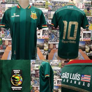 Camisa Sampaio Corrêa - Super Bolla - P - 2015/2016 - #10