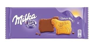Biscoito Milka Choco Moo Revestido Com Chocolate Leite 120g