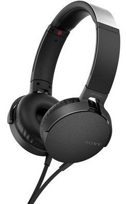 Fone De Ouvido Com Microfone Sony Mdr Xb550ap/b Preto