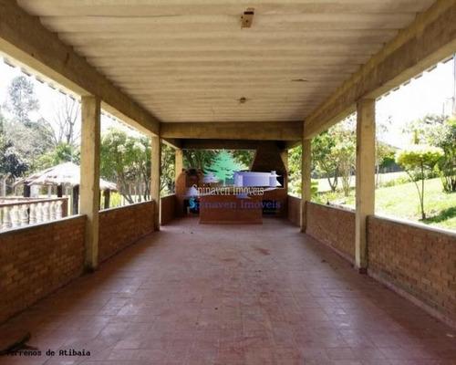 Chácara Residencial Em Atibaia Para Venda Com Escritura. Boa Topografia E Acesso - Ch00577
