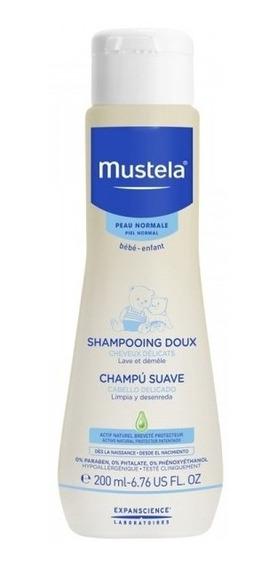 Mustela Shampoo Suave Piel Normal 200 Ml