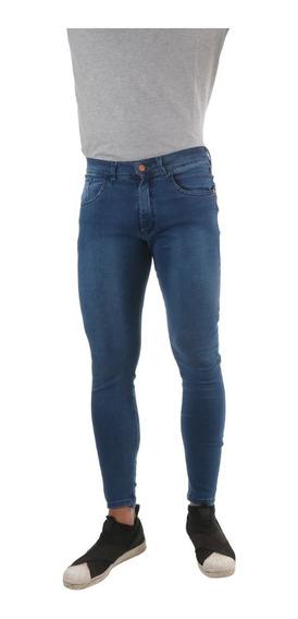 Jean Elastizado Chupin De Hombre Impacto Jeans
