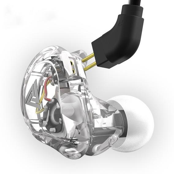 Fone Palco Bass In-ear Vk1 Sem Mic Orig Qkz Na Caixa + P10