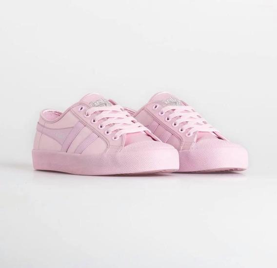 Gola - Zapatillas Mujer Coaster Satin Neon Rosa/amarilo