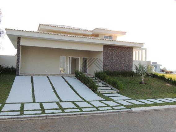 Casa Com 4 Dormitórios À Venda, 360 M² Por R$ 1.800.000 - Condomínio Residencial Evidence - Araçoiaba Da Serra/sp - Ca6665