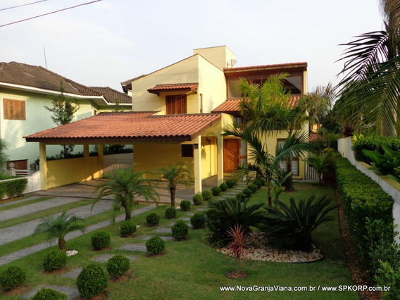 Casa Com 3 Suítes À Venda, 320 M² Por R$ 1.060.000 - Nova Higienópolis - Jandira/sp - Ca1742