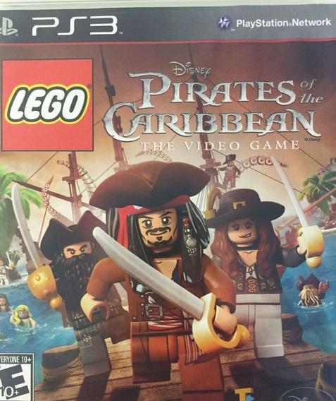Lego Piratas Do Caribe Ps3