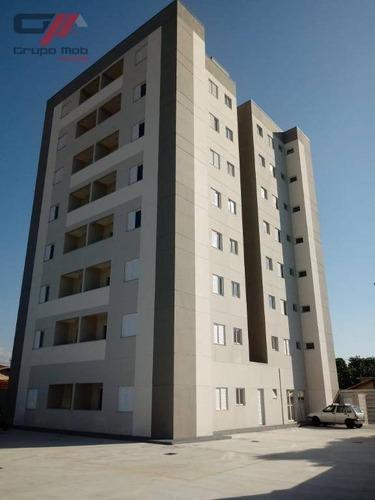 Apartamento Com 2 Dormitórios À Venda, 57 M² Por R$ 200.000,00 - Parque São Luís - Taubaté/sp - Ap0396