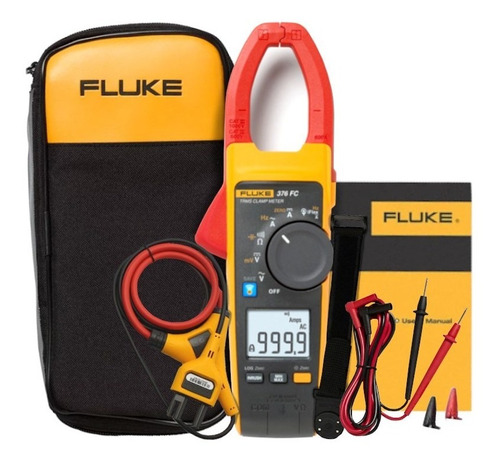 Alicate Amperímetro Digital Ac/dc True-rms 376 Fc Fluke