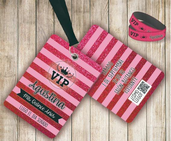 Tarjetas Invitacion Doble Cara Souvenirs Para Fiesta De 15