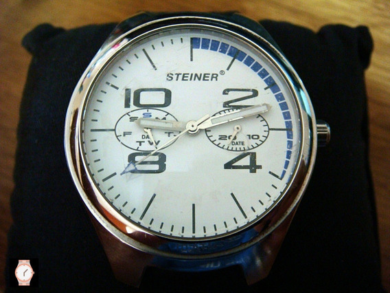Reloj Steiner Limited Edition No. 1362. 100% Original.