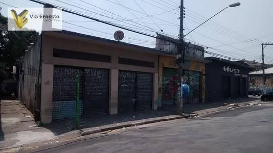 Salão Comercial À Venda, Vila Dos Remédios, Osasco. - Sl0027