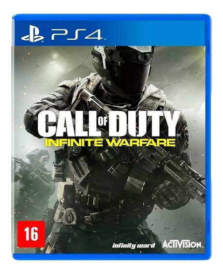 Call Of Duty Infinite Warfare Ps4 Mídia Física Lacrado