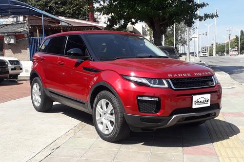 Land Rover Evoque 2018 Rojo Motor 2.0 5 Puertas