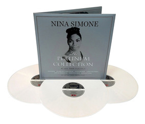 Nina Simone Lp Triplo Platinum Collection Importado Branco