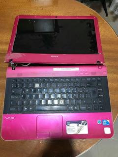 Laptop Computadora Notebook 40cmpantalla! Rosa Vaio Series E