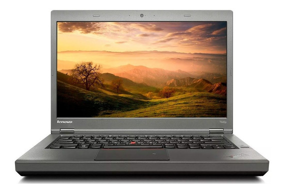 Notebook Lenovo T440p I5-4300 4gb 500gb 14