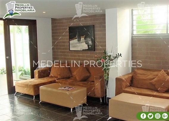 Apartamentos En Arriendo Amoblados En Medellin Cód: 4190