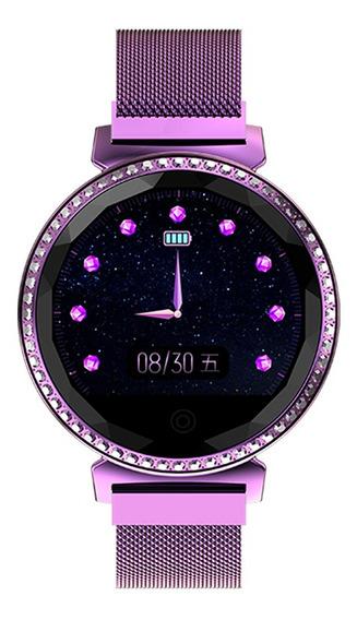 Mc11 Reloj Inteligente Para Mujer Reloj Bt Impermeable Para