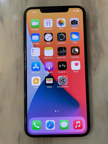 iPhone 11 Max Pro 256gb Gris Impecable