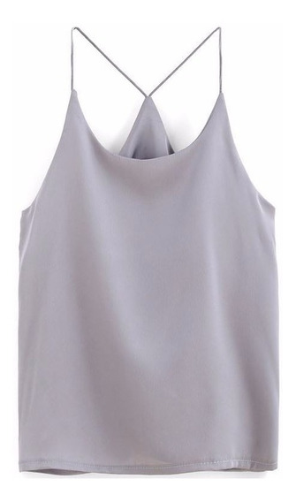Bl1190 Blusa Casual Gris - It Girls Colombia
