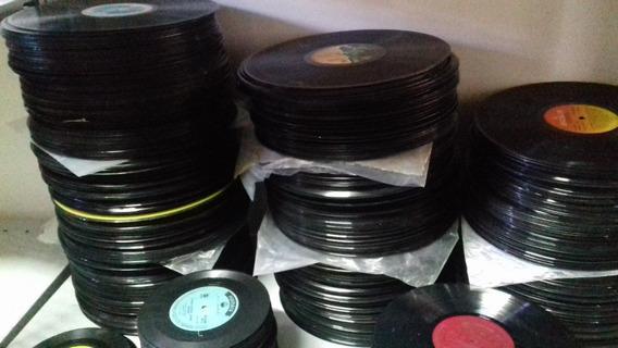 Lote 100 Discos De Vinil Para Artesanato E Decoração