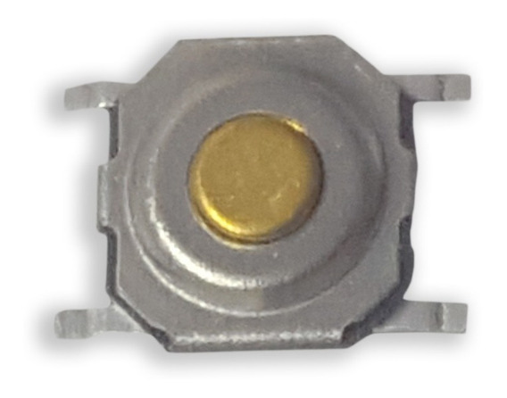 10 Chaves Tactil 4x4x1,5mm P/controles