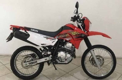 Motocicleta Yamaha Xtz 250 Lander Vermelha 2018