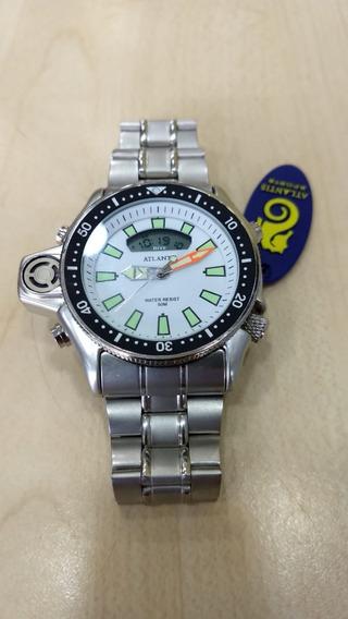 Relógio Original Atlantis Aqualand Ana Digi Todo Funcional
