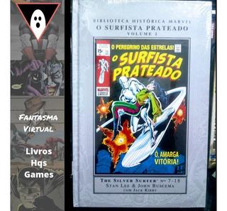 Hq Biblioteca Histórica Marvel Surfista Prateado 02 Mxthq