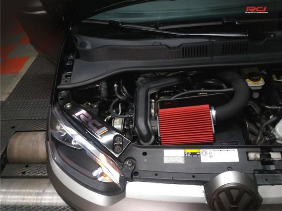 Kit Intake Cai Up Tsi 1.0 Turbo Filtro Esportivo Completo Vw