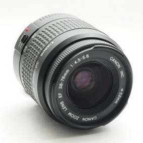 Lente Canon Zoom 38-76mm Aceito Proposta
