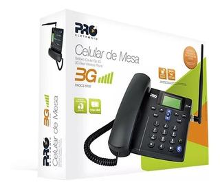 Telefone Celular Rural De Mesa 3g Proeletronic Procs-5030