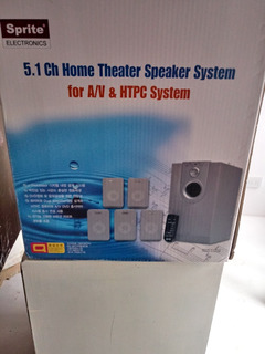 Home Sistema 5.1 Marca Sprite - Nuevo Casi Sin Uso