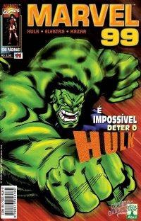 Marvel 99, Coleção Incompleta, 9 Revistas, Anos 90!!