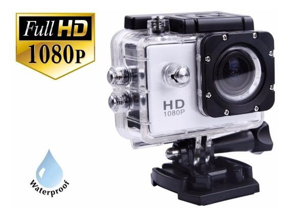 Câmera Esporte Ação Full Hd 1080p Sports Action + Brinde Top
