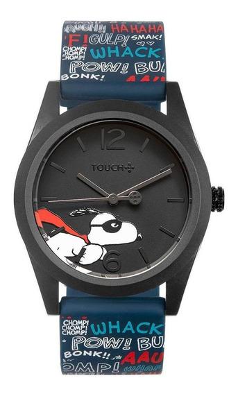 Relógio Touch Unissex Snoopy Trip Preto Tw2035mqy/8p