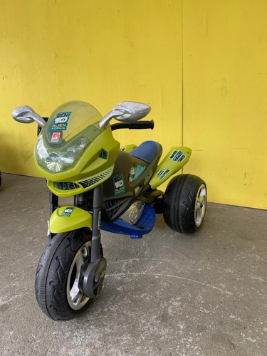 Imagem 1 de 6 de Mini Moto Elétrica - Super Moto Gt Ben 10 Alien Force 6v