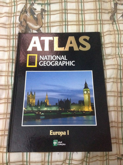 Atlas National Geographic Europa I
