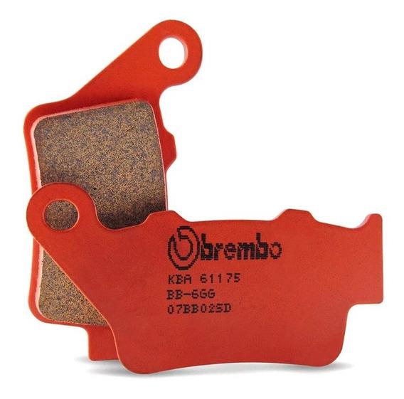 Pastilla Freno Trasero Bmw F 800 Gs - Brembo