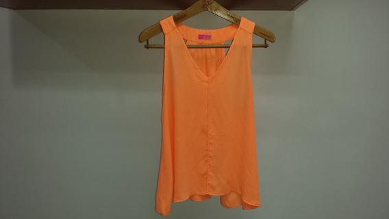 Blusa Marca Iner Naranja Original Talla L