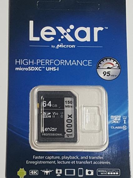 Cartão De Memoria Classe 10 64gb 150mbs