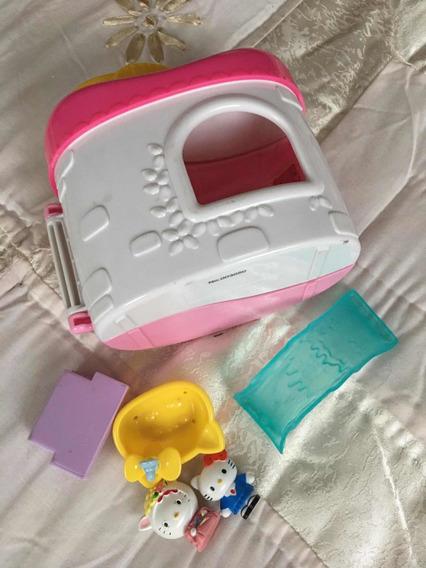 Hello Kitty Casa Con Accesorios